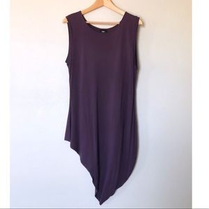 Mossimo | Sleeveless Asymmetrical Tunic Top